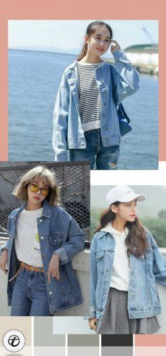 Denim-Look-for-Teens-233x500 20 Trendy Easter Outfits for Teen Girls 2018