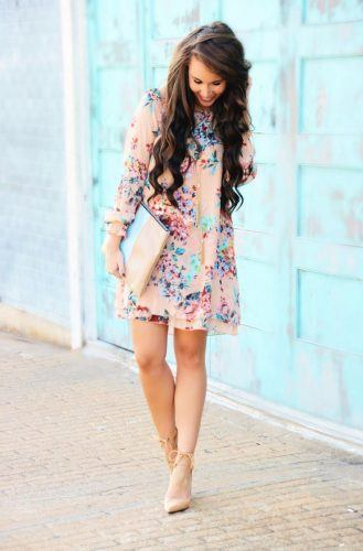 Florals-for-Easter-329x500 20 Trendy Easter Outfits for Teen Girls 2018