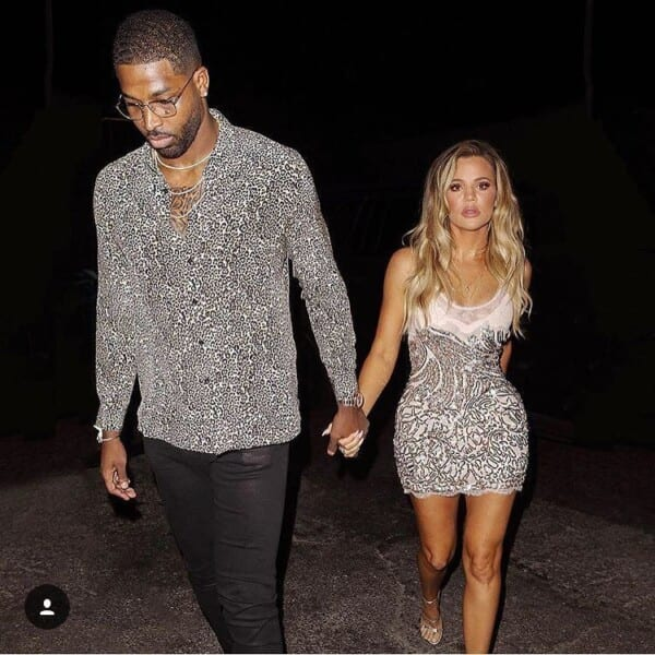 Khloe-Kardahsian-600x600 Celebrities Couples Matching Outfits–25 Couples Who Nailed It