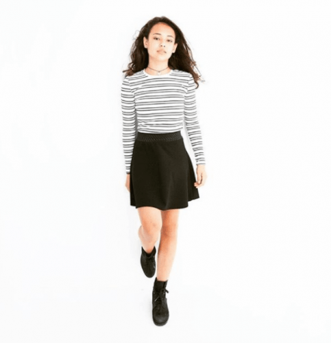 Monochrome-Outfits-for-Easter-Day-483x500 20 Trendy Easter Outfits for Teen Girls 2018
