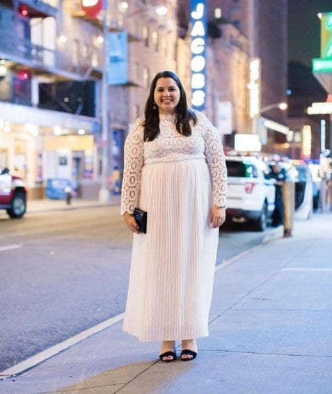 Plus-Sized-Easter-Outfit12 23 Best Easter Outfits for Plus Size Women 2018