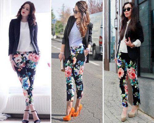floral-tights-500x400 Footless Tights Outfits–18 Ideas How to Wear Footless Tights