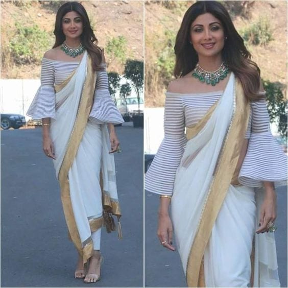 13-2 30 New Saree Blouse Designs 2018 You Must Try
