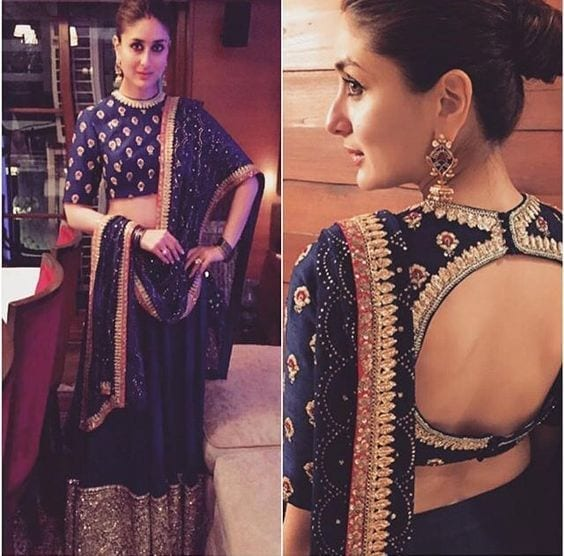28 30 New Saree Blouse Designs 2018 You Must Try