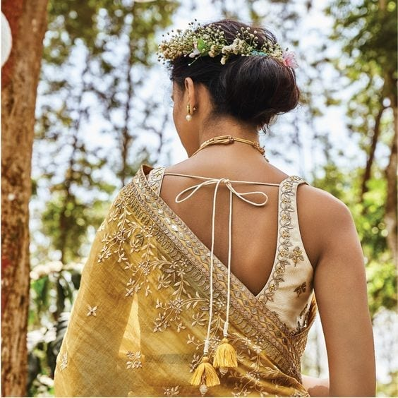 3-1 30 New Saree Blouse Designs 2018 You Must Try
