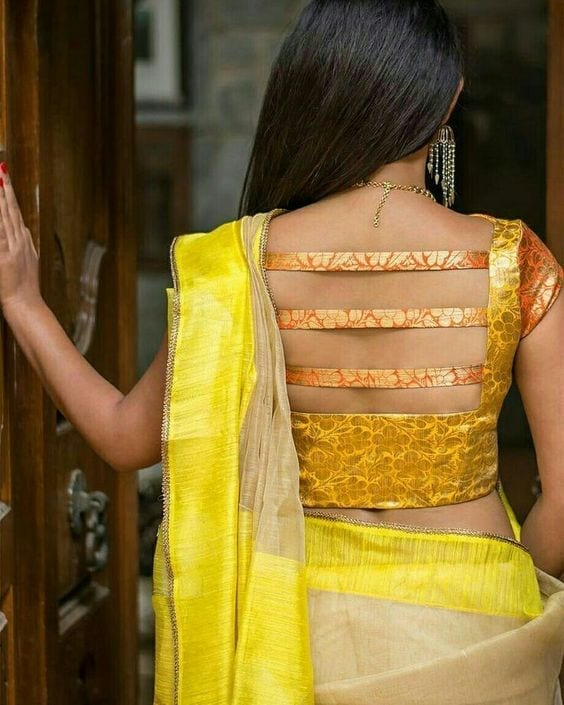 30-1 30 New Saree Blouse Designs 2018 You Must Try