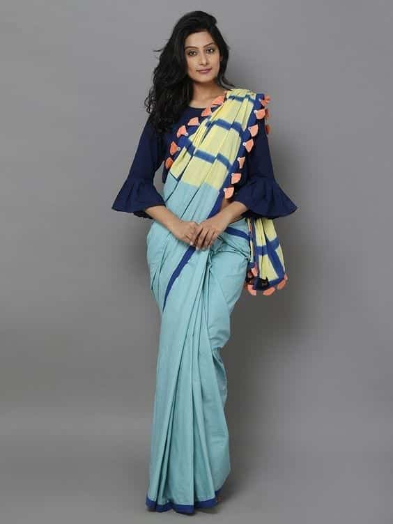 32 30 New Saree Blouse Designs 2018 You Must Try