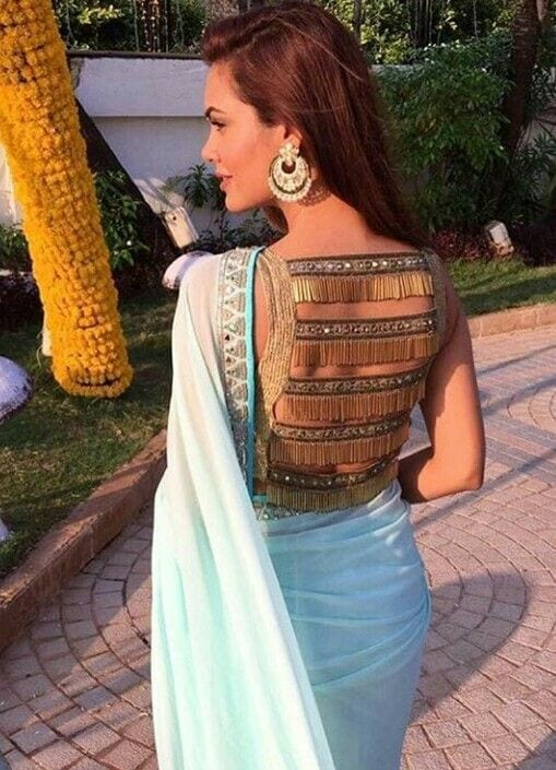 34 30 New Saree Blouse Designs 2018 You Must Try