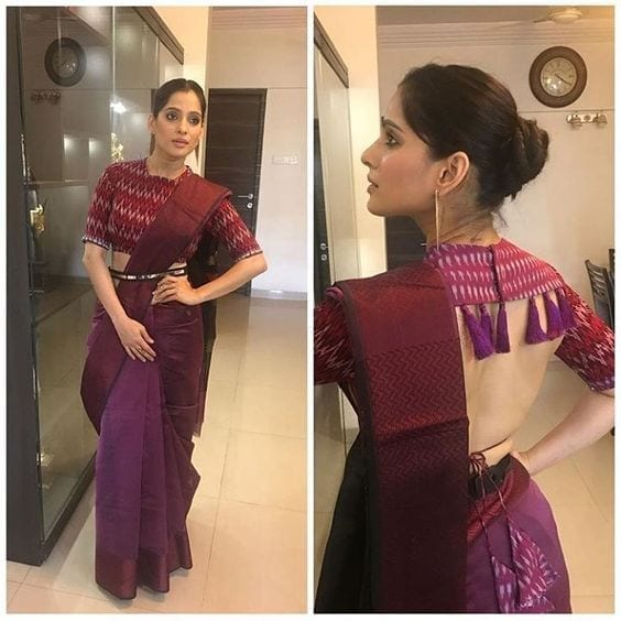 35 30 New Saree Blouse Designs 2018 You Must Try