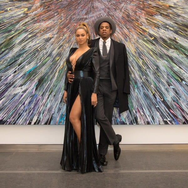 Beyonce-and-Jay-Z-600x600 Celebrities Couples Matching Outfits–25 Couples Who Nailed It