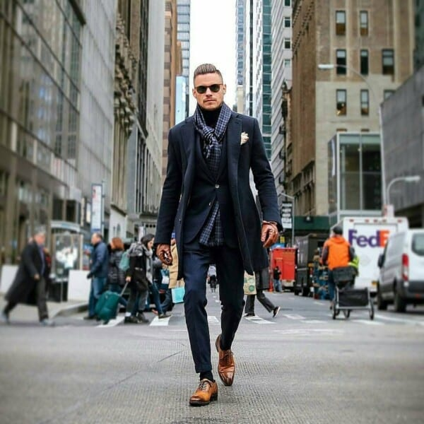 Black-and-Brown-1-600x600 Men's Business Casual Shoes Guide and 20 Tips for Perfect Look