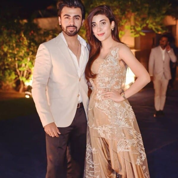 Farhan-Saeed-adn-Urwa-Hocane-600x600 Celebrities Couples Matching Outfits–25 Couples Who Nailed It