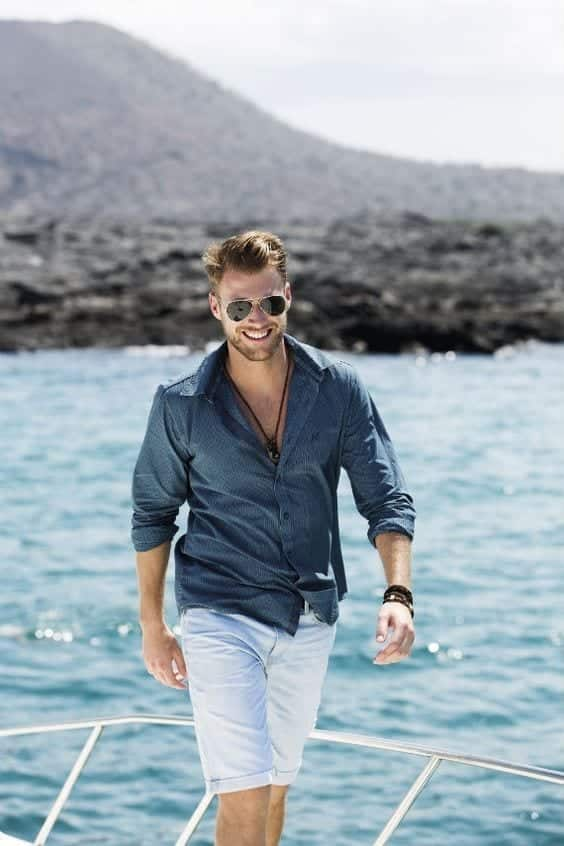 French-Riviera-Nautical-Look 24 Best Boating Outfits for Men - How to Dress for Boat Trip