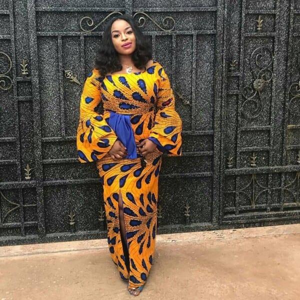 27 Kitenge Designs For Long Dresses (27)