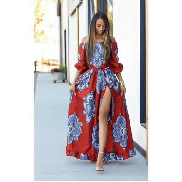 27 Kitenge Designs For Long Dresses (19)