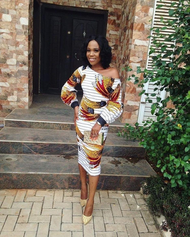 27 Best Kitenge Designs For Long Dresses