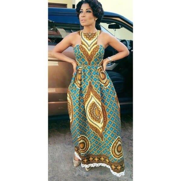27 Kitenge Designs For Long Dresses (9)