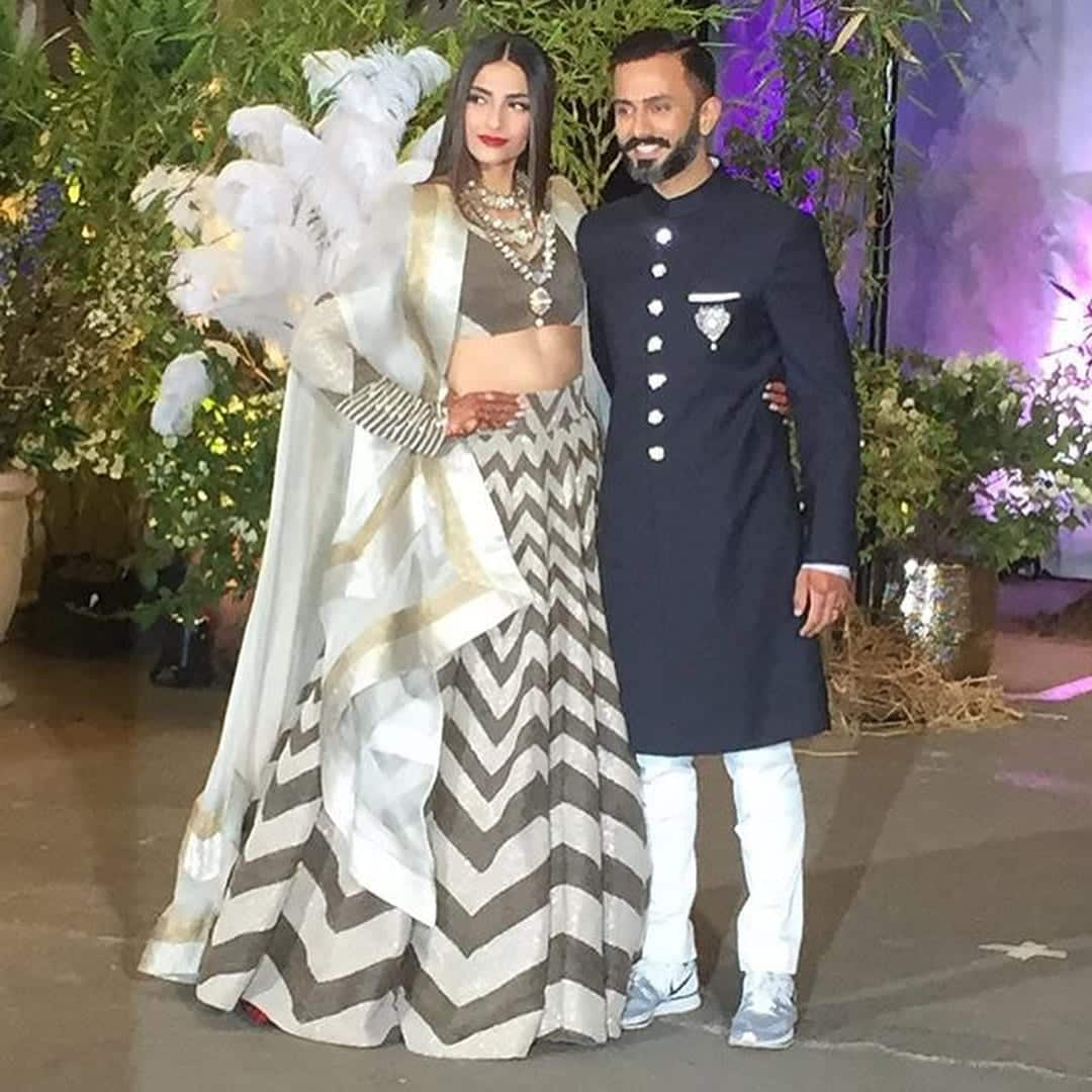 1-3 Sonam Kapoor Wedding Pics - Engagement and Complete Wedding Pictures