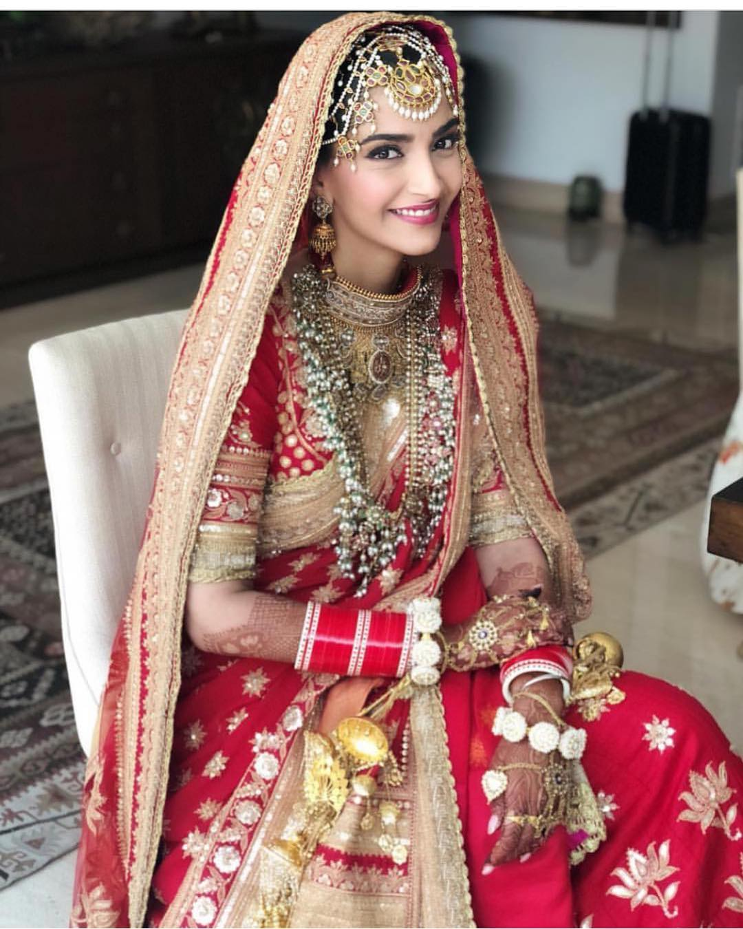 17-2 Sonam Kapoor Wedding Pics - Engagement and Complete Wedding Pictures