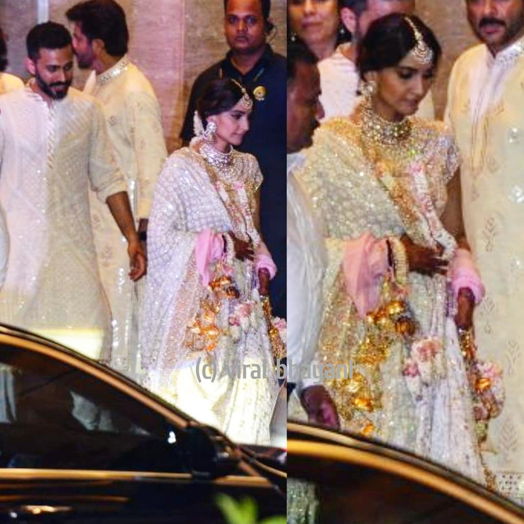 19-1 Sonam Kapoor Wedding Pics - Engagement and Complete Wedding Pictures