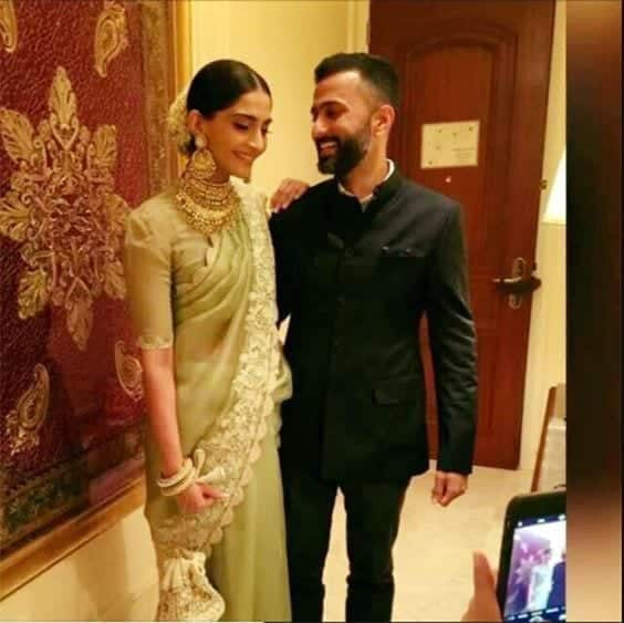 2 Sonam Kapoor Wedding Pics - Engagement and Complete Wedding Pictures