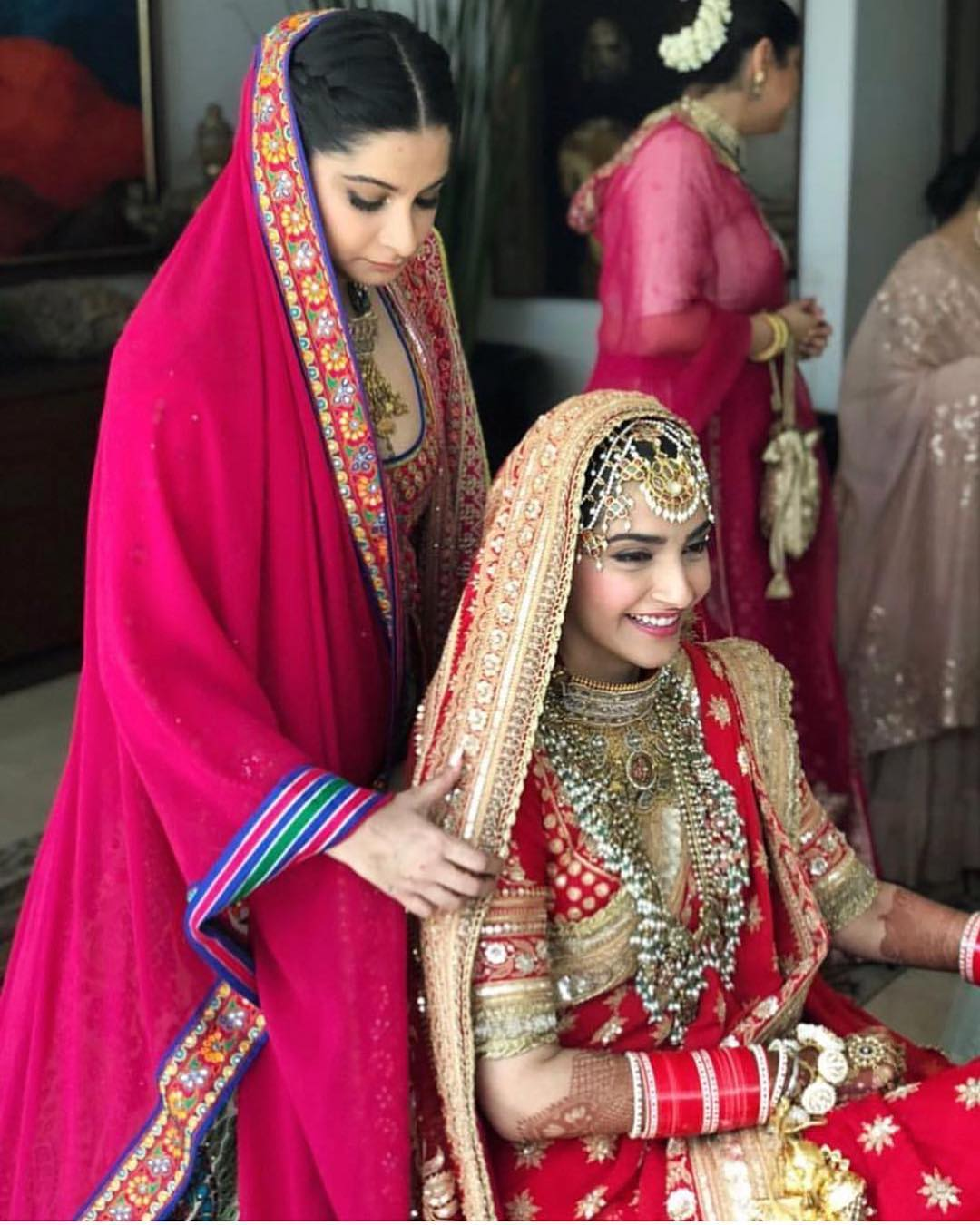 21-2 Sonam Kapoor Wedding Pics - Engagement and Complete Wedding Pictures