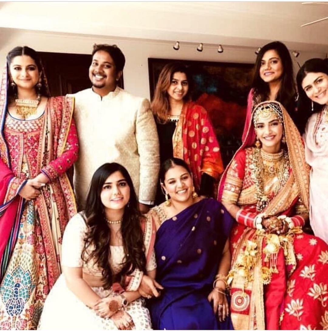 31 Sonam Kapoor Wedding Pics - Engagement and Complete Wedding Pictures