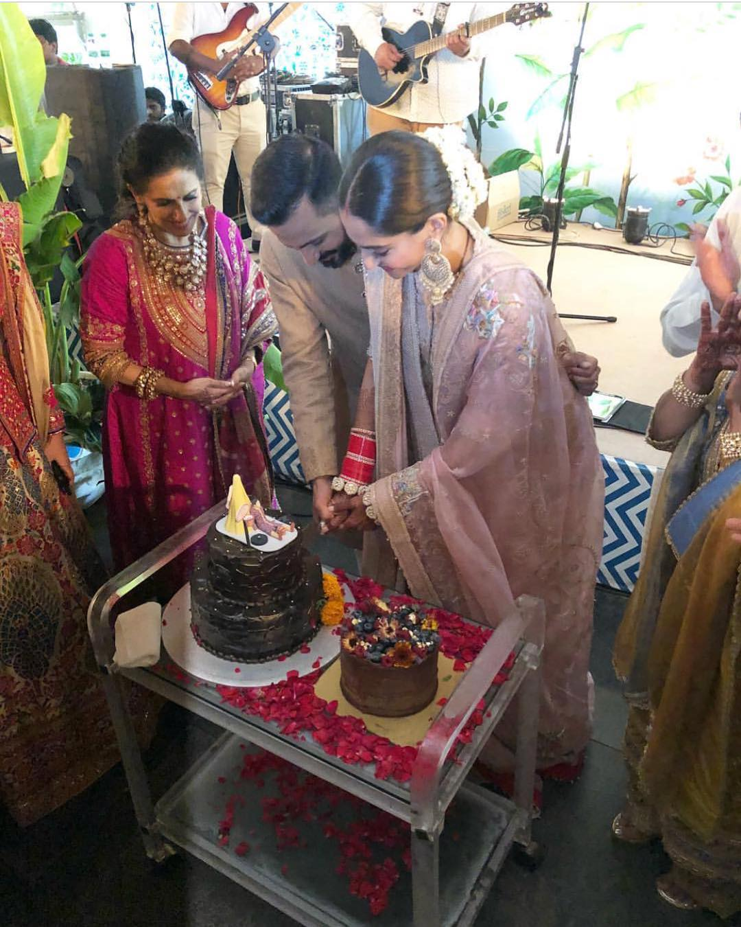 33 Sonam Kapoor Wedding Pics - Engagement and Complete Wedding Pictures