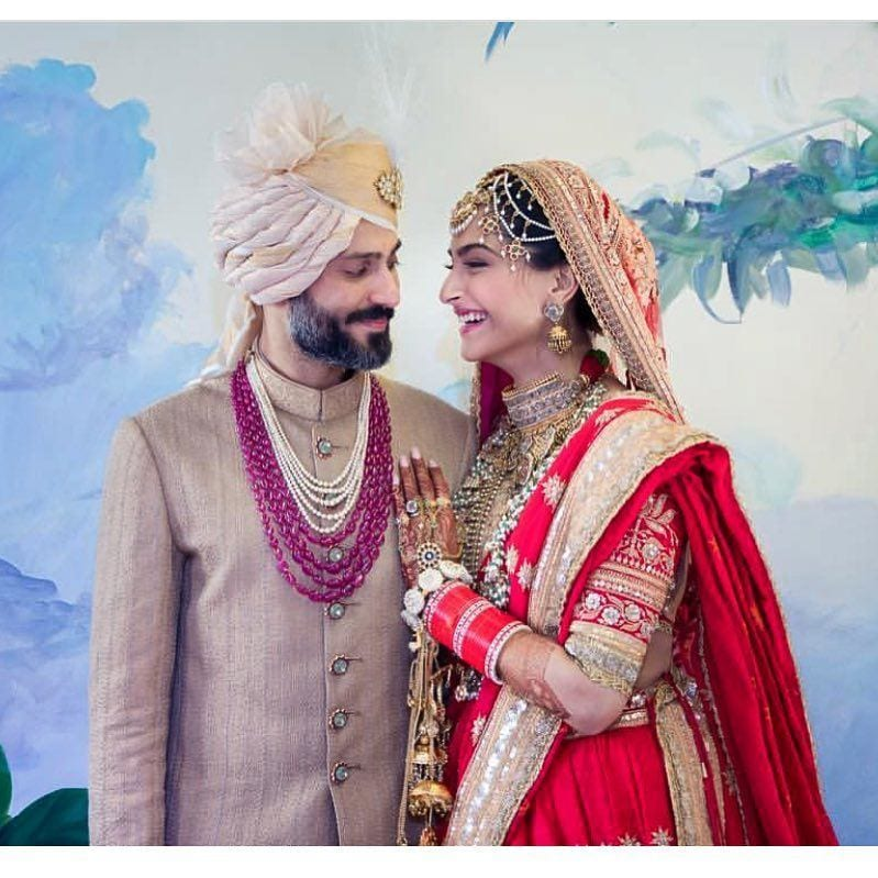 36 Sonam Kapoor Wedding Pics - Engagement and Complete Wedding Pictures