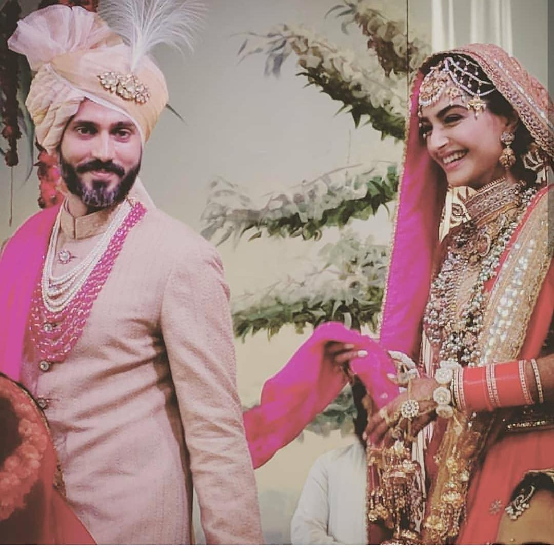 39 Sonam Kapoor Wedding Pics - Engagement and Complete Wedding Pictures