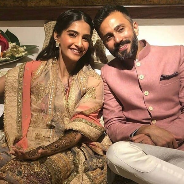 4-600x600 Sonam Kapoor Wedding Pics - Engagement and Complete Wedding Pictures
