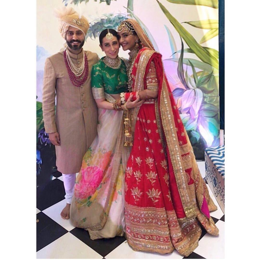 40 Sonam Kapoor Wedding Pics - Engagement and Complete Wedding Pictures