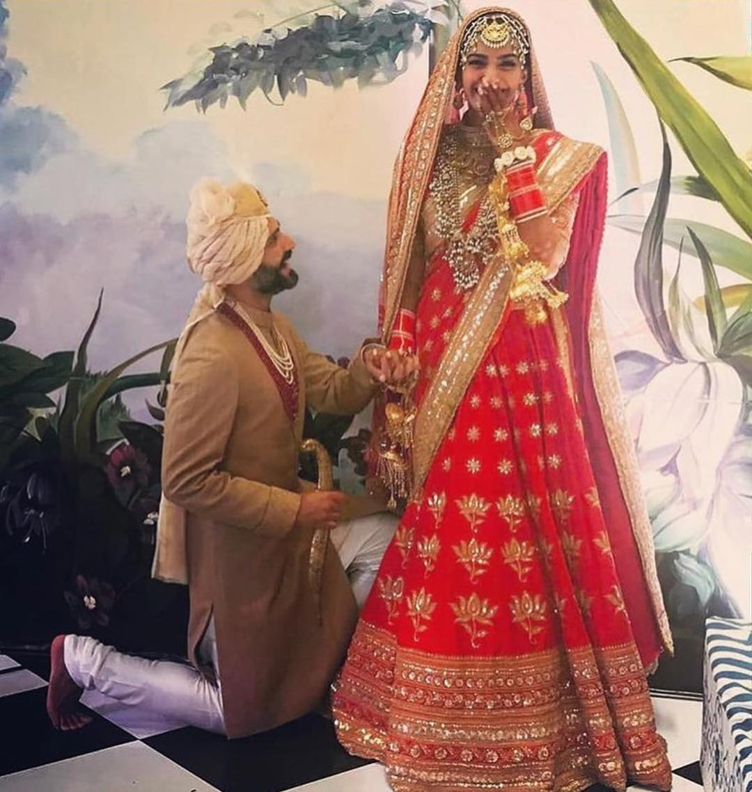42 Sonam Kapoor Wedding Pics - Engagement and Complete Wedding Pictures