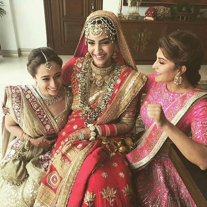 44 Sonam Kapoor Wedding Pics - Engagement and Complete Wedding Pictures