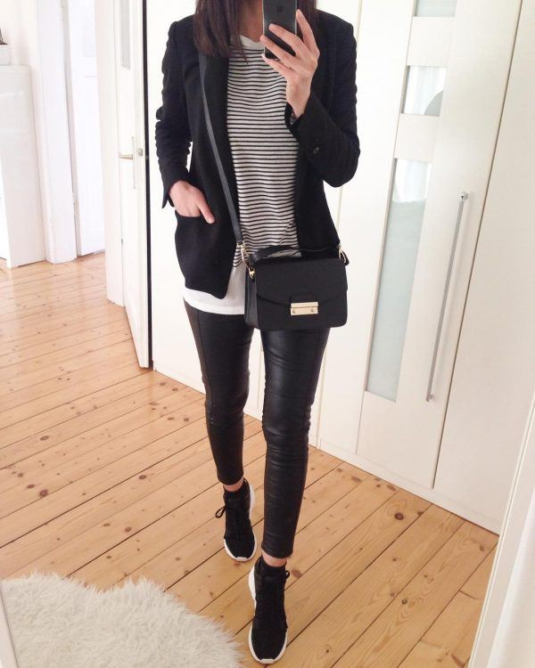 Black-Jeans-600x750 18 Outfits To Make Your Legs Look Thinner