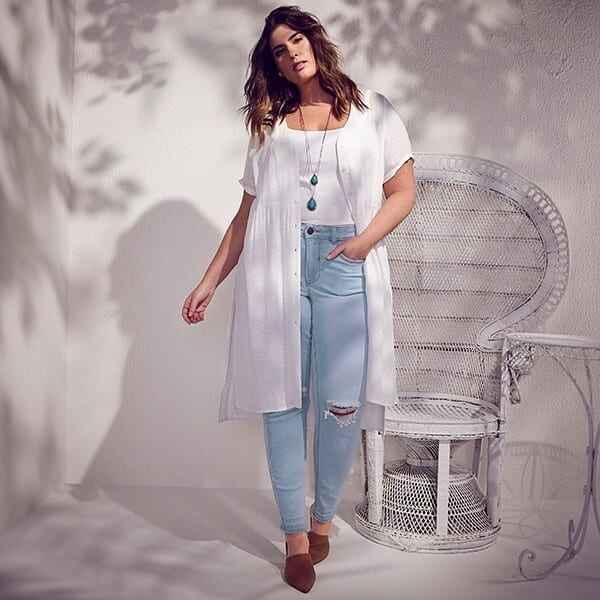 High-Waisted-Jeans-600x600 21 Best Winter Jeans Outfits for Plus-Sized Women to Stay Cool and Chic