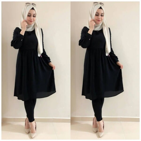 Hijab-600x600 30 Best Funeral Outfits for Teen Girls-What to Wear to Funeral