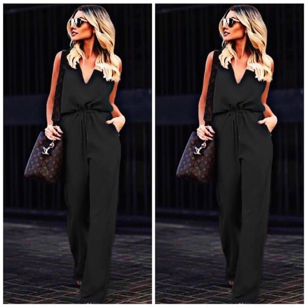 Jumpsuit-600x600 30 Best Funeral Outfits for Teen Girls-What to Wear to Funeral