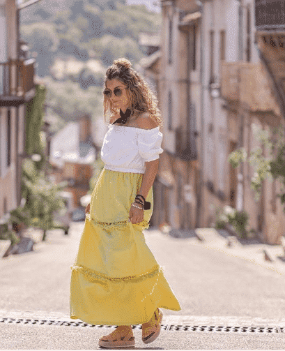 Long-Colorful-Skirts 23 Best Outfits to Wear This September For Women 2018