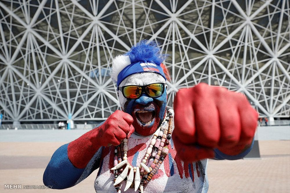 Russian-Mans-Wild-Look 20 Funniest FIFA World Cup Russia 2018 Outfits