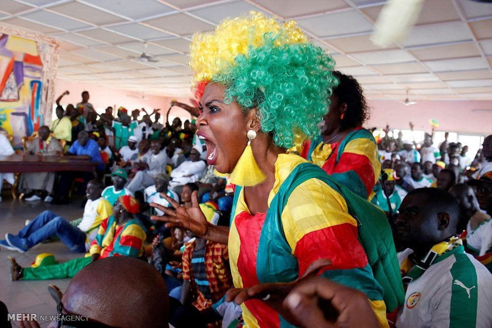 Senegal-Fans-Funky-Wig 20 Funniest FIFA World Cup Russia 2018 Outfits