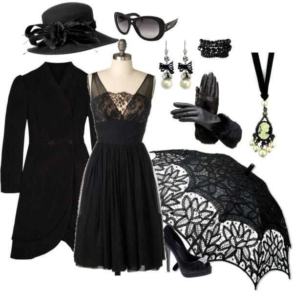 Suitable-Jewelry-600x600 30 Best Funeral Outfits for Teen Girls-What to Wear to Funeral