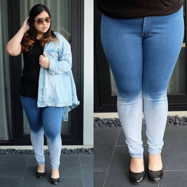 jeggings-600x600 21 Best Winter Jeans Outfits for Plus-Sized Women to Stay Cool and Chic