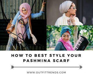 Modest Fashion Ideas with Pashmina Scarves (6)