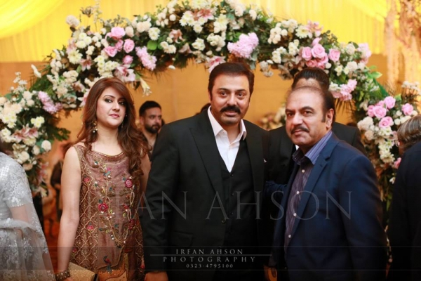 actor noman ejan on urwa farhan wedding