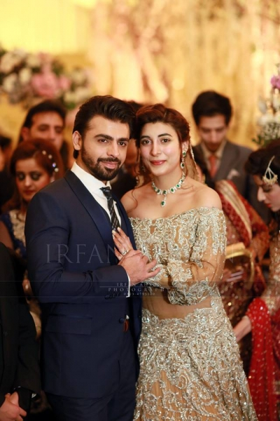 farhan and urwa wedding