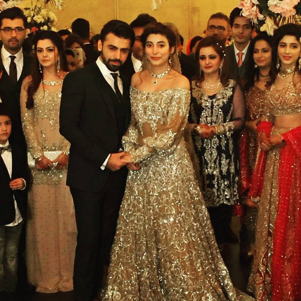 farhan saeed urwa hocane wedding barat