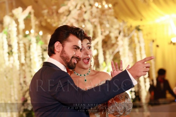 farhan saeed urwa hocane wedding picture barat