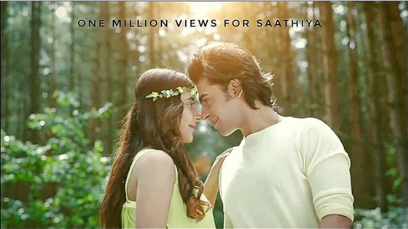farhan urwa music video saathiya