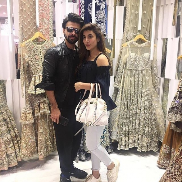 urwa and farhan at elan